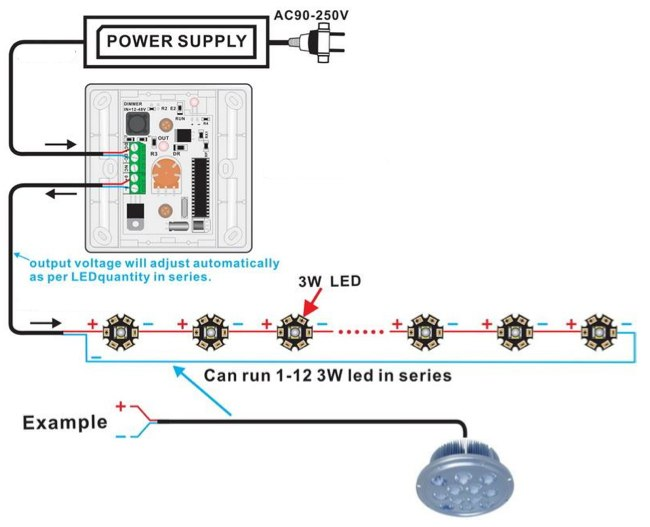 led ir remote dimmer switch Dimmer Circuit Diagram led ir remote dimmer switch picture 2